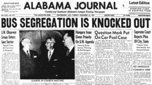 Montgomery Alabama Bus Boycott