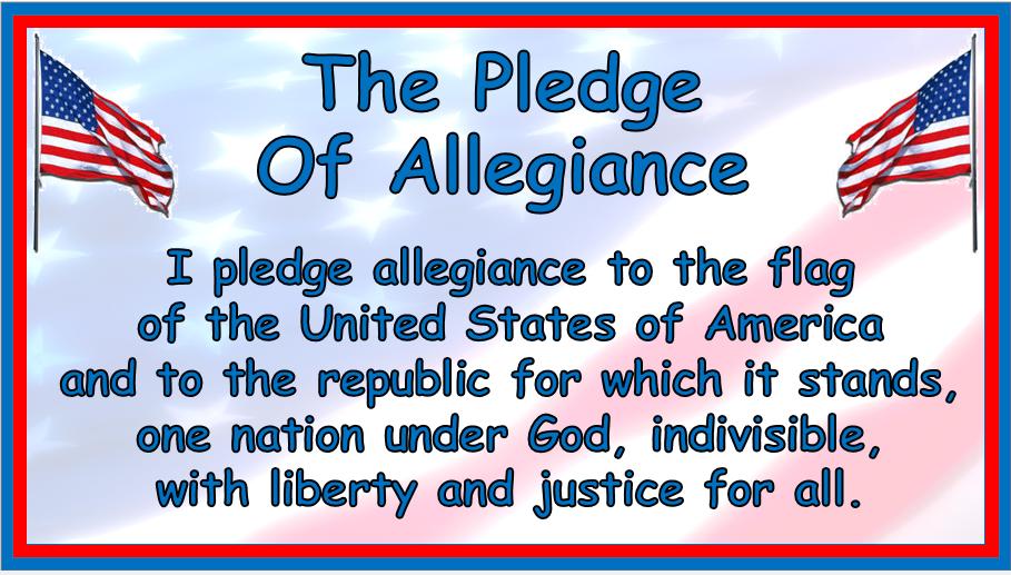 United States Pledge Allegiance