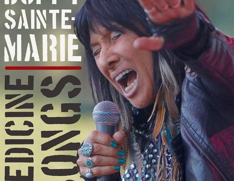 Activist Beverly Buffy Sainte Marie