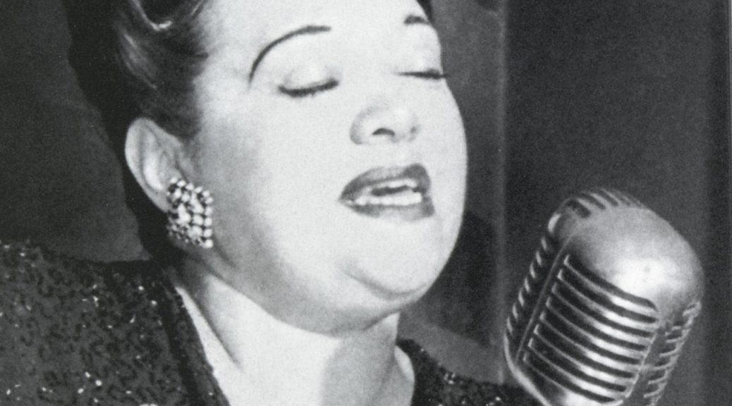 Jazz Vocalist Mildred Bailey