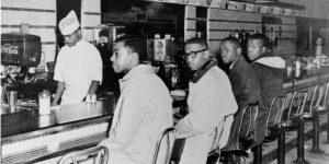 Greensboro 4 Desegregate Lunch Counters