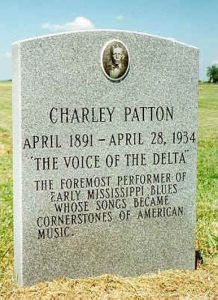 Bluesman Charlie Patton