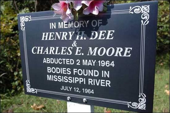 KKK kills Henry Hezekiah Dee Charles Eddie Moore