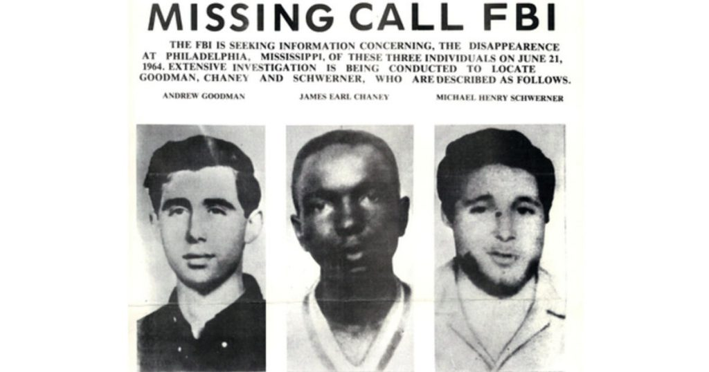 KKK Murders Chaney Goodman Schwerner