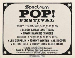 1969 Spectrum Summer Music Festival