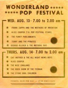 1969 Wonderland Pop Festival