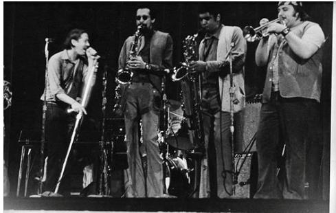 Saxophonist Trevor Lawrence