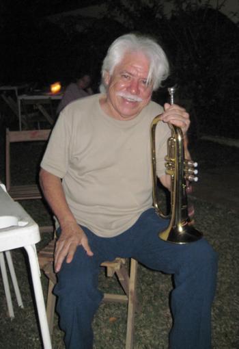 Trumpeter Luis Gasca