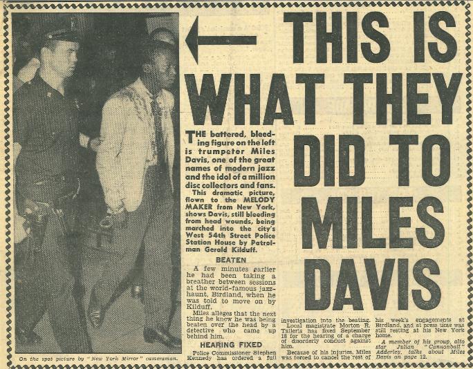 Resting Miles Davis Beaten