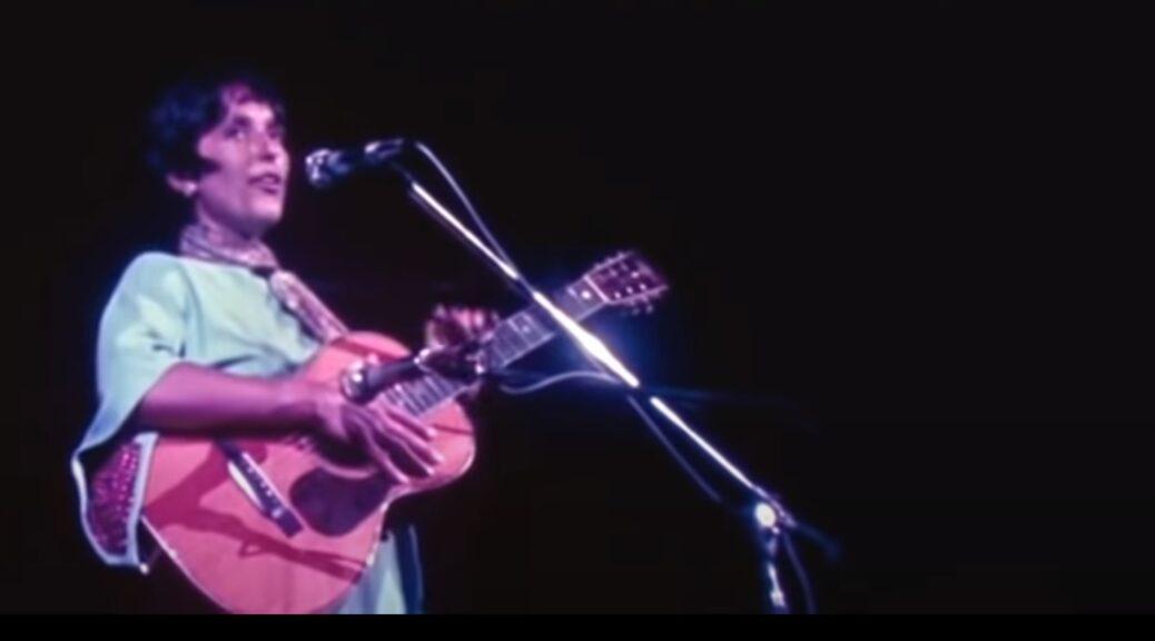 Joan Baez Woodstock