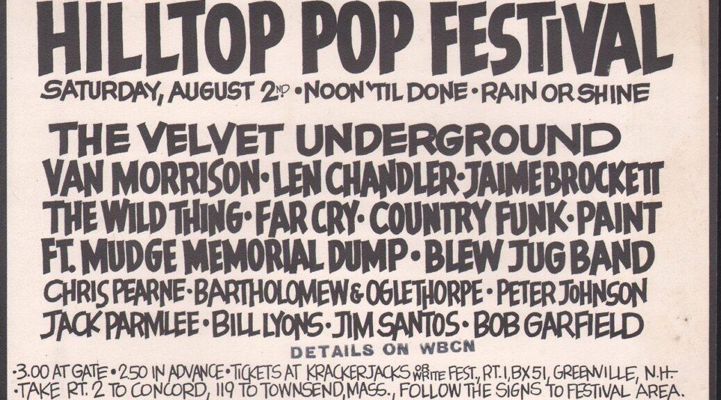 Hilltop Pop Festival